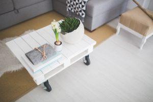 décoration blanc gris